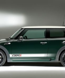 Bmw Mini Side Stripes and Graphics