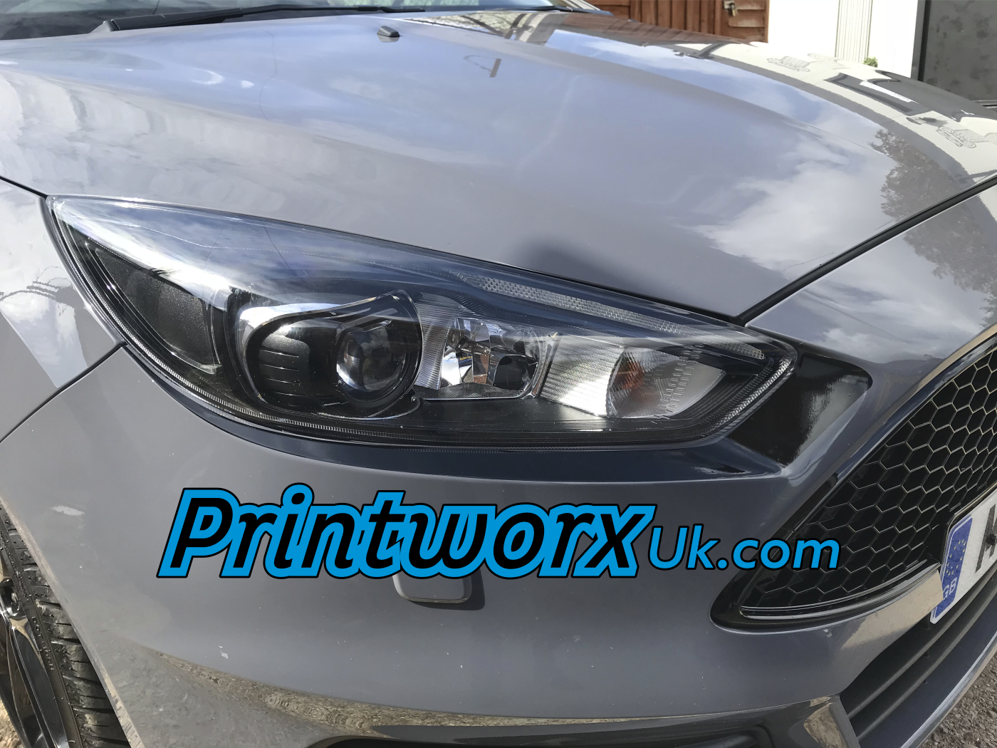 Mk3 Ford Focus Headlight Under Brows Http Www Printworxuk Com